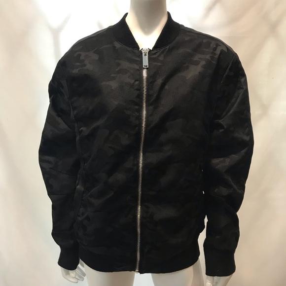 Karl Lagerfeld Camo Bomber Jacket